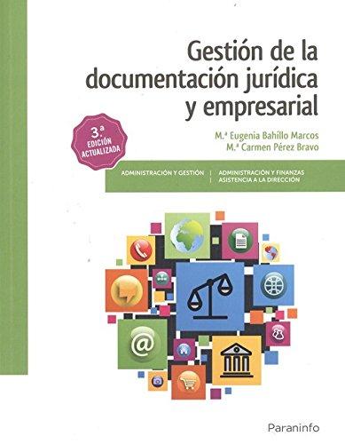GESTION DE LA DOCUMENTACION JURIDICA Y EMPRESARIAL