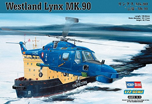 Hobby boss 87240 - modellino elicottero militare lynx mk.90 in scala 1:72