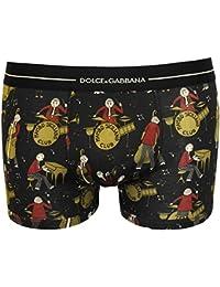 Dolce & Gabbana del boxeador de los hombres Regular, Musicisti Jazz, Algodón - Nero