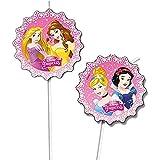 6 Pajitas Princesas Disney - Única