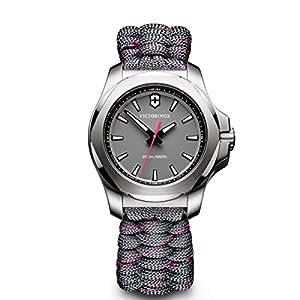 Victorinox Reloj Digital de Cuarzo para Mujer con Correa de Tela – 241771