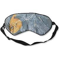 Comfortable Sleep Eyes Masks Pretty Fish Pattern Sleeping Mask For Travelling, Night Noon Nap, Mediation Or Yoga preisvergleich bei billige-tabletten.eu