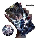 BCBKD iPhone 6/6s Animazione Naruto Luminous Custodia e Cover Telefono Caso Custodia Coperchio Manicotto Protettivo per i Fan di Naruto