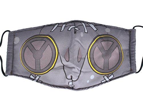 Papapa Overwatch Stoff Maske von Roadhog