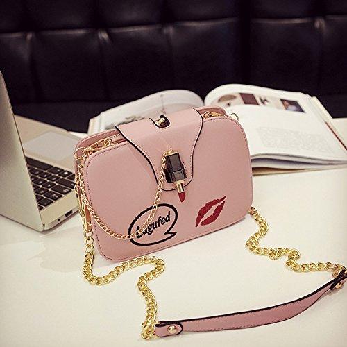 Fanmingsidi, Borsa a zainetto donna rosa Pink Pink