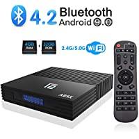 ‏‪A95X Android 9.0 TV Box 4GB RAM 32GB ROM Amlogic S905X2 Quad-core Cortex-A53 Dual Band WiFI 2.4G/5G USB 3.0 support HDMI 2.1 3D 4K HD Smart TV Box‬‏