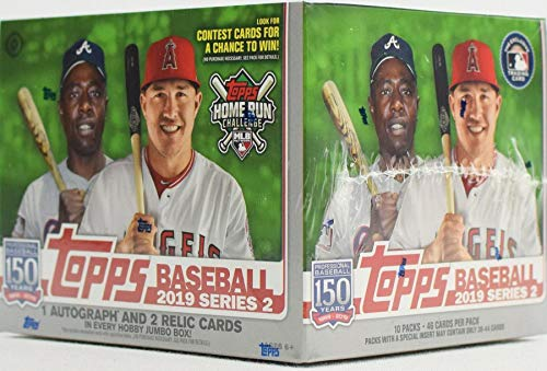 Topps 2019 Series 2 Baseball Jumbo Box MLB