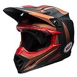 Bell Helmet Moto-9 Flex Vice, Copper/Schwarz, Größe M