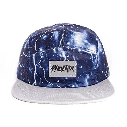 Phoenix 5-Panel Cap Casquette Avec Motif Floral Unisexe Baseball Hat Chapeau Thunderbolt