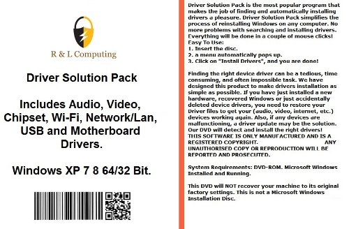 Drivers Solution Pack For HP Computers Installs Fix for sale  Delivered anywhere in UK