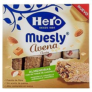 Hero Barrette ai Cereali e Avena con Mandorle e Caramello - 140 g 9 spesavip