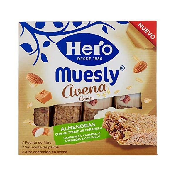 Hero Barrette ai Cereali e Avena con Mandorle e Caramello - 140 g 1 spesavip