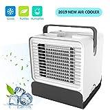 Womdee Climatiseur Ventilateur Portable, USB 3 en 1 Mini Climatiseur Refroidisseur...