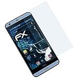 atFolix Schutzfolie kompatibel mit HTC Desire 530/630 Panzerfolie, ultraklare & stoßdämpfende FX Folie (3X)