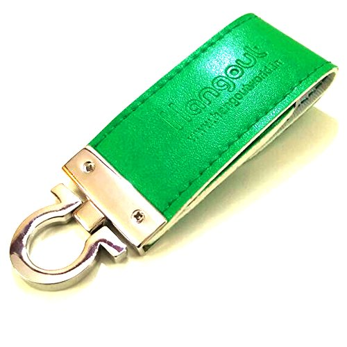 Elite & Durable Hangout Keychain With USB Metal Pen Drive For Cars, Bikes, Bicycles, Back bags, Hand bags etc-HO-HO-KEY-044-Terrific Teal-HO-KEY-044-Valley Green