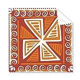 Braun Windmühle Mexiko Totems uralte Zivilisation, Zeichnen Gläser Tuch Reinigungstuch Geschenk Handy-Display von 5x