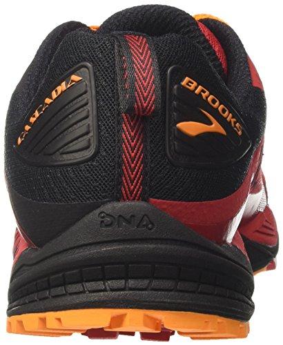 Brooks Cascadia 12, Scarpe De Trail Running Uomo Rosso (rouge / Noir / Orange)