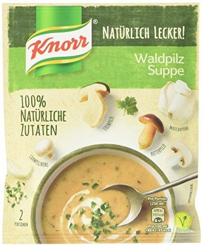 Knorr Natürlich Lecker! Waldpilz Suppe, 57 g