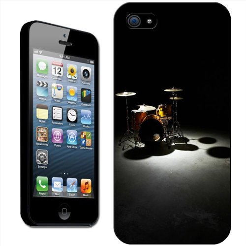 drums-custodia-rigida-posteriore-clip-on-per-apple-iphone-plastica-drum-set-in-spotlight-iphone-5-5s