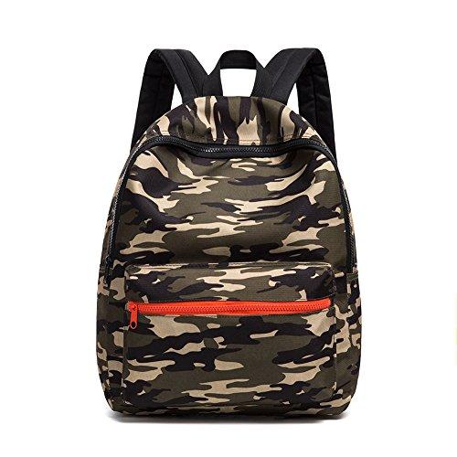 Borse per la scuola da esercito camouflage bambini zaini per bambini zaino leggero zaino daypack per ragazzi e ragazze (camouflage)