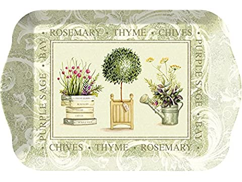 Creative Tops Small Topiary Coffee Table Scatter Tray, Multi-Colour