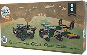 Vista Vista0301-47 Seva Army Mini 2 Set de construcción (23 Piezas)