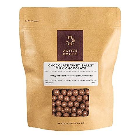 Chocolate Whey Balls Milk Chocolate
