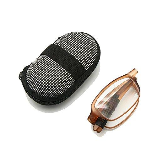 Mini Falten gefaltet mit Flexibilität, 1,0 bis + 3,5 lesen Gläser Männer Frauen Brillen Presbyopie optische Pocket Reader