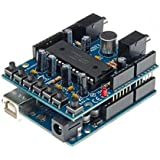 Audio Shield pour Arduino® kit monté Velleman VMA02