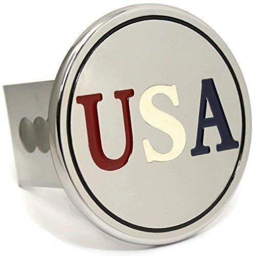 dantegts USA chrom Trailer 5,1cm Anhängerkupplung Plug Cover Cap Edelstahl