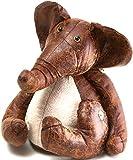 Türstopper Elefant 34cm I Dekorativer Vintage Look I Schwere Füllung I Deko Fensterstopper I Tier I Boden I Puffer