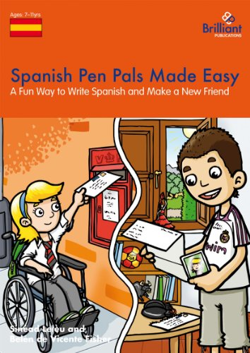 Spanish Pen Pals Made Easy - A Fun Way to Write Spanish and Make a New Friend por Sinad Leleu