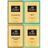 Aster Luxury Herbal Ayurveda Premium Handmade Bathing Bar - Set of 4 (125g each)