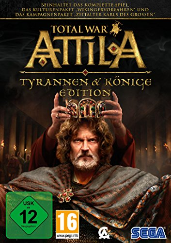 Total War: Attila - Tyrannen und Könige Edition (PC) (Pc Games Total War)
