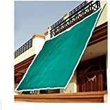 """Shade Sail Green Net , Protects from Sun, Blocks upto 90% UV rays,Ideal for Car Parking, Drive Ways, Gardens, Children Play Areas, Verandas,Best for Home , Garden & Office (25""""x10"""")"""