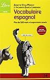Vocabulaire espagnol : Plus de 500 mots et expresions usuels