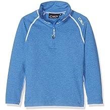 CMP Camiseta técnica de esquí para chico, niño, Funktionsshirt Ski, Royal Mel, 10 años (140 cm)