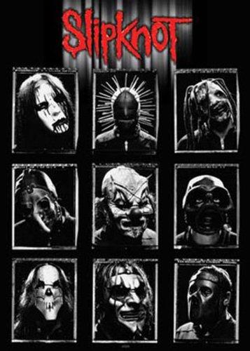 """Empire 17062 Poster musicale """"Slipknot"""" 61x91,5 cm"""