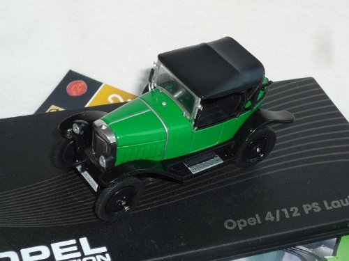 Opel 4/12 Ps Laubfrosch 1924-1926 inkl Zeitschrift 1/43 ixo Modell Auto Modellauto SondeRangebot -