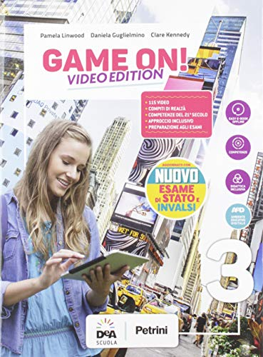 Game on! Student's book & workbook. Con Maps. Ediz. video. Per la Scuola media. Con e-book. Con espansione online. Con DVD-ROM. Con File audio per il download: 3