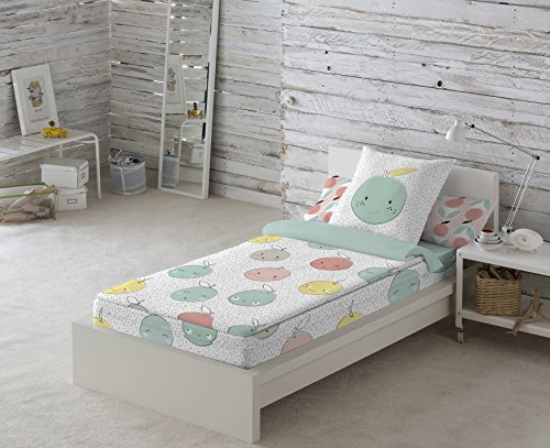 Cool Kids Housse de couette Apple A 90 cm Con relleno
