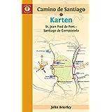 Karten: Camino de Santiago: St. Jean Pied de Port – Santiago de Compostela