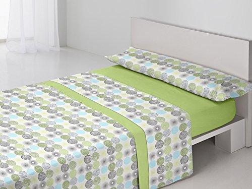 Juego de sábanas DENIA Purpura Home. Cama 90 cm....