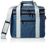 PuTwo Lunchtasche Insulated Tote Große Kapazität mit verstellbarem Schulterriemen Lunch Bag Allerbaby - Blau