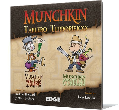 Edge Entertainment- Munchkin - Tablero terrorífico - español. (EDGMUGB2)