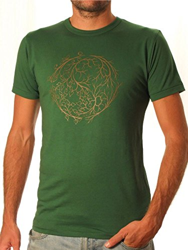 Ropa justa bambú camiseta hombre