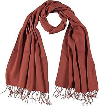 PASSIGATTI Damen Schal NA 63704, Gr. one size, Beige (48-terra)