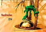 HausDrachen (Wandkalender 2014 DIN A4 quer): Sie verstecken sich überall! (Monatskalender, 14 Seiten)