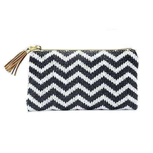 FLDONG, Damen Clutch Black White Series