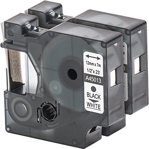 2x-nastro-tape-cartridge-compatibile-con-dymo-45013-d1-in-bianco-e-nero-12-millimetri-x-7m-per-label